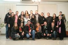 Volunteers on second anniversary of Radio Maria Kosovë
